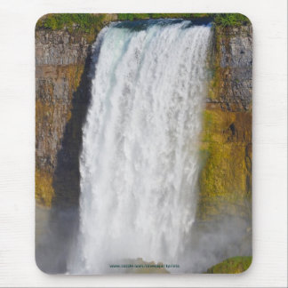 Bridal Veil Falls Niagara Falls, Canada-US Border Mouse Pad