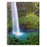 Bridal Veil Falls NZ Spiral Notebook