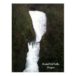 Bridal Veil Falls, Oregon Postcard