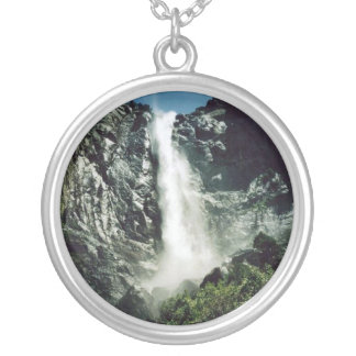 Bridal Veil Falls Silver Plated Necklace