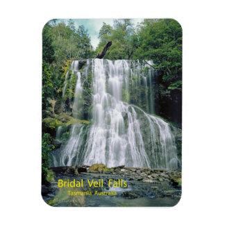 Bridal Veil Falls, Tasmania, Australia Magnet