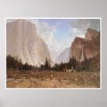 Bridal Veil Falls, Yosemite, c. 1870-84 Poster
