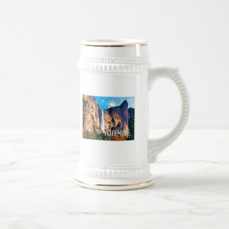 Bridal Veil Falls Yosemite National Park 18 Oz Beer Stein