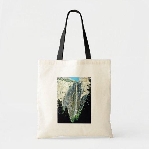 Bridal Veil Falls - Yosemite National Park Tote Bag