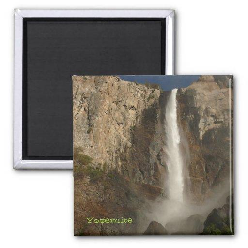 Bridal Veil Falls, Yosemite Refrigerator Magnet