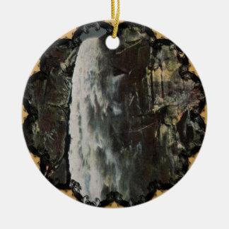 Bridal Veil Falls Yosemite Vintage Ornament