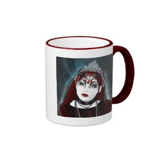 Bridal Veil Ringer Mug