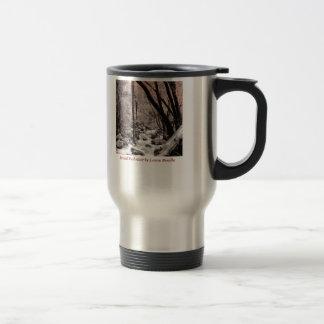 Bridal Veil river 15 Oz Stainless Steel Travel Mug