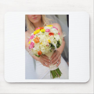 Bridal Wedding Bouquet 10.jpg Mouse Pad