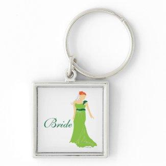 Bridal Wedding Keychain