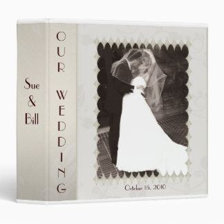 Bridal Wedding Photo Binder / Scrapbook