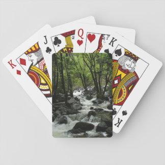Bridalveil Creek in Yosemite National Park Deck Of Cards