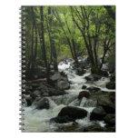 Bridalveil Creek in Yosemite National Park Notebook