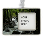 Bridalveil Creek in Yosemite National Park Silver Plated Framed Ornament