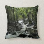 Bridalveil Creek in Yosemite National Park Throw Pillow