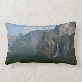 Bridalveil Falls and Half Dome at Yosemite Lumbar Pillow