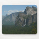 Bridalveil Falls and Half Dome at Yosemite Mouse Pad