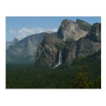 Bridalveil Falls and Half Dome at Yosemite Postcard