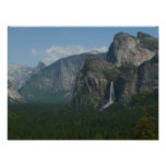 Bridalveil Falls and Half Dome at Yosemite Poster