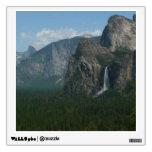 Bridalveil Falls and Half Dome at Yosemite Wall Sticker