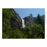 Bridalveil Falls at Yosemite National Park Card
