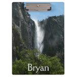 Bridalveil Falls at Yosemite National Park Clipboard