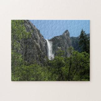 Bridalveil Falls at Yosemite National Park Jigsaw Puzzle