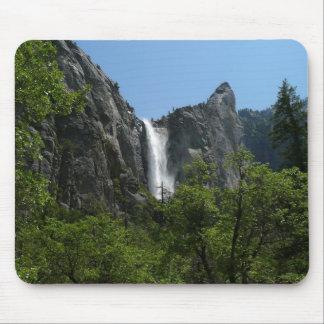 Bridalveil Falls at Yosemite National Park Mouse Pad