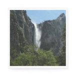 Bridalveil Falls at Yosemite National Park Paper Napkin