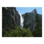 Bridalveil Falls at Yosemite National Park Photo Print