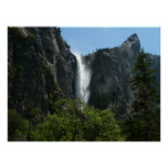 Bridalveil Falls at Yosemite National Park Poster