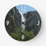 Bridalveil Falls at Yosemite National Park Round Clock