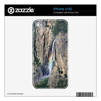 Bridalveil Falls from Above - Yosemite Decals For iPhone 4S