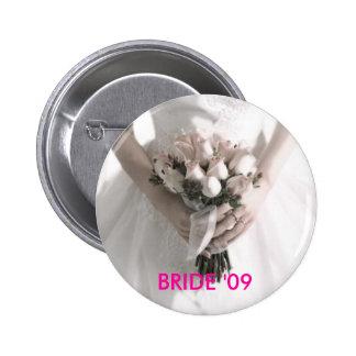BRIDE '09 BUTTON