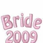 Bride 2009 Just Married Embroidered Hoodie