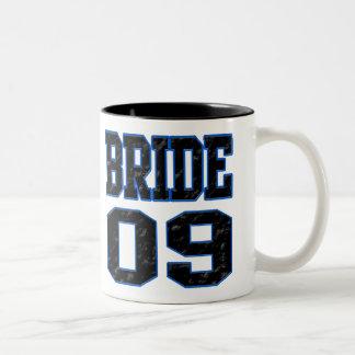 Bride 2009 Two-Tone coffee mug