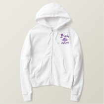 Bride 2009 - With Your Initials Embroidered Hoodie