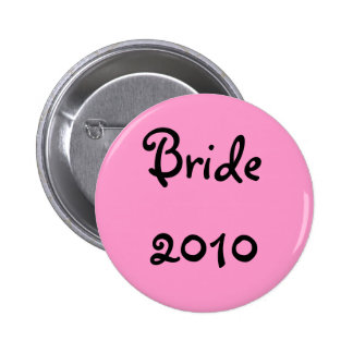 Bride 2010 button