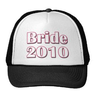 Bride 2010 trucker hat
