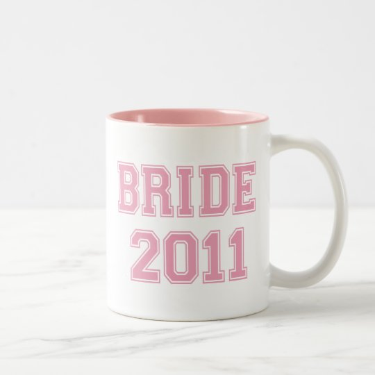 Bride 2011 Two-Tone coffee mug