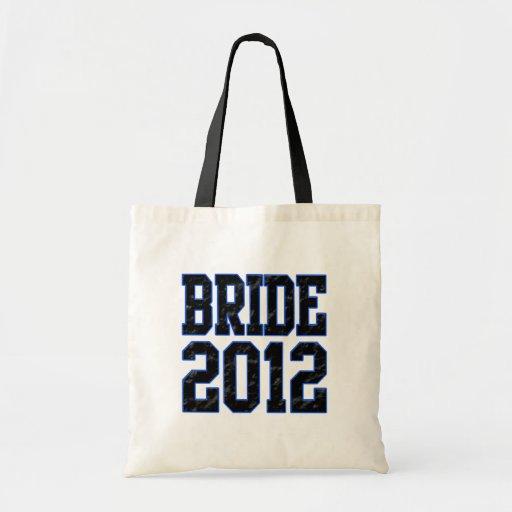 Bride 2012 canvas bag