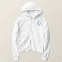 Bride 2013 embroidered hoodie