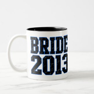 Bride 2013 mugs