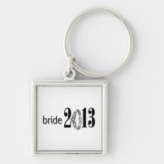Bride 2013 Ring Keychain