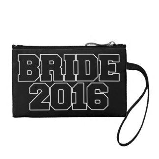 Bride 2016 change purse