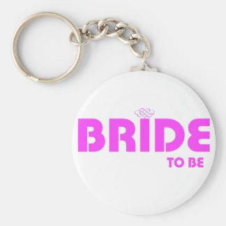 bride 2 b basic round button keychain
