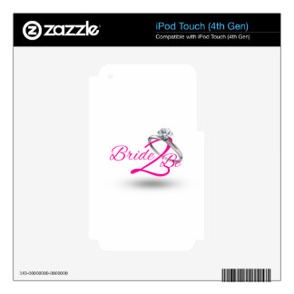 Bride 2 sees decal for iPod touch 4G