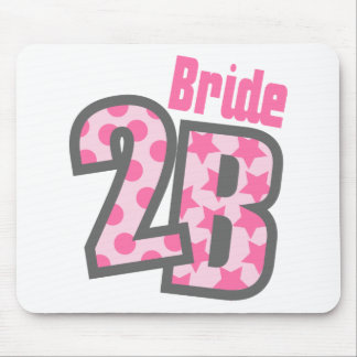 Bride 2B (Pink) Mouse Pad