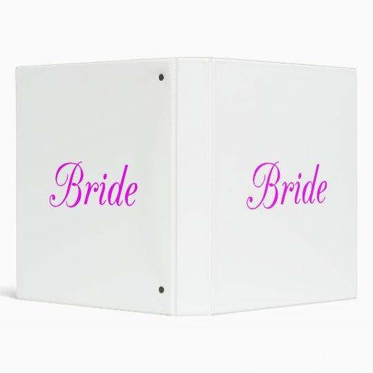 Bride 3 Ring Binder