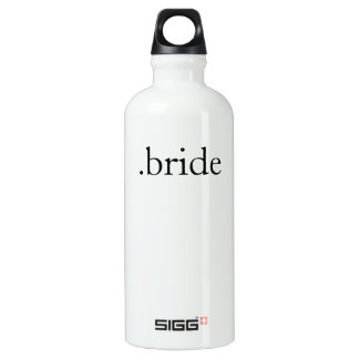 .bride aluminum water bottle